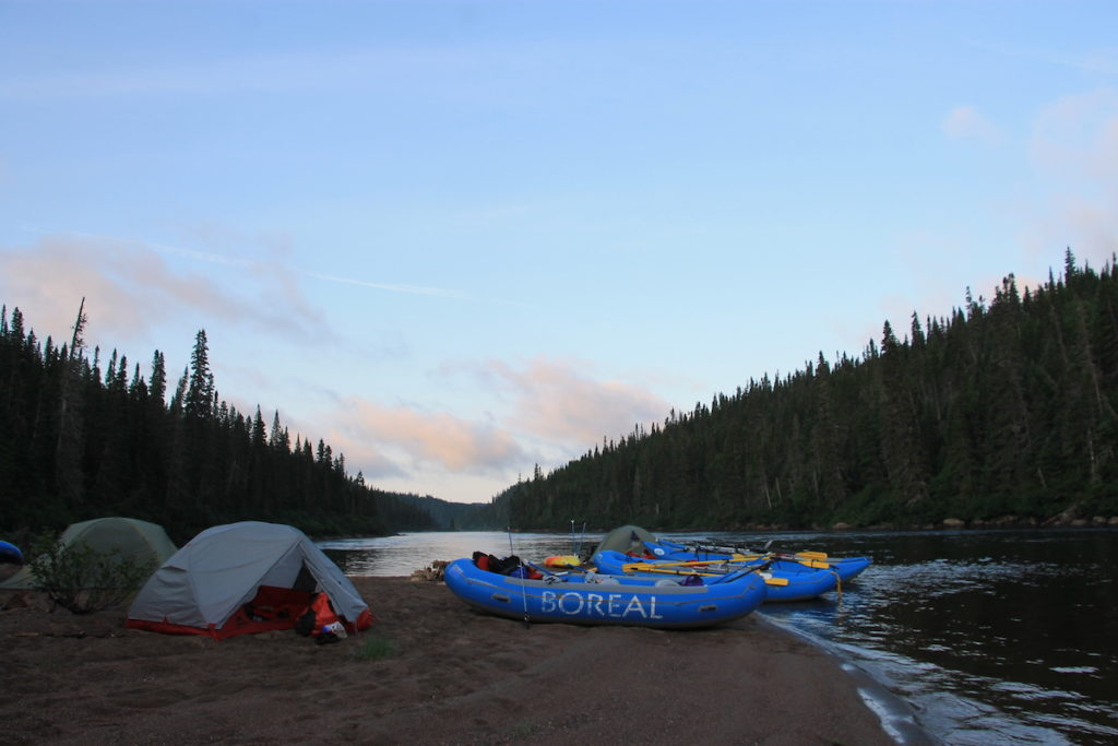 Magpie whitewater rafting adventure with Boreal River