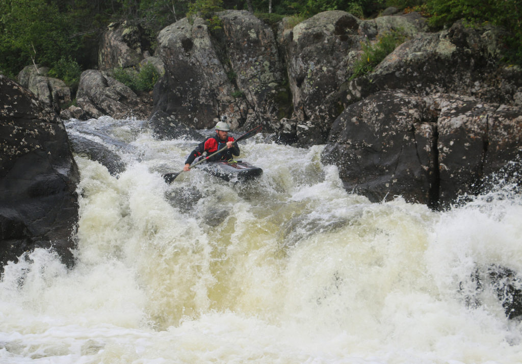 Magpie whitewater expeditions for kayak and canoe with Boreal River