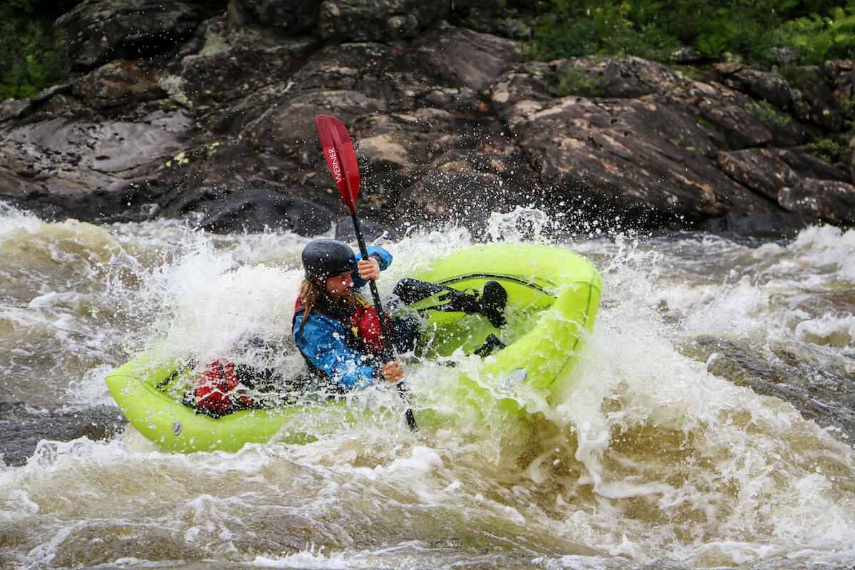 Packraft expedition on the Magpie River in Quebec, Canada - whitewater packrafting