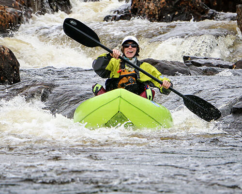 Paddle a top river and get comfortable in whitewater