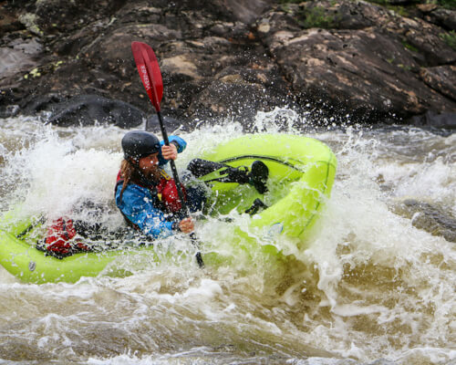Learn whitewater and backpacking skills