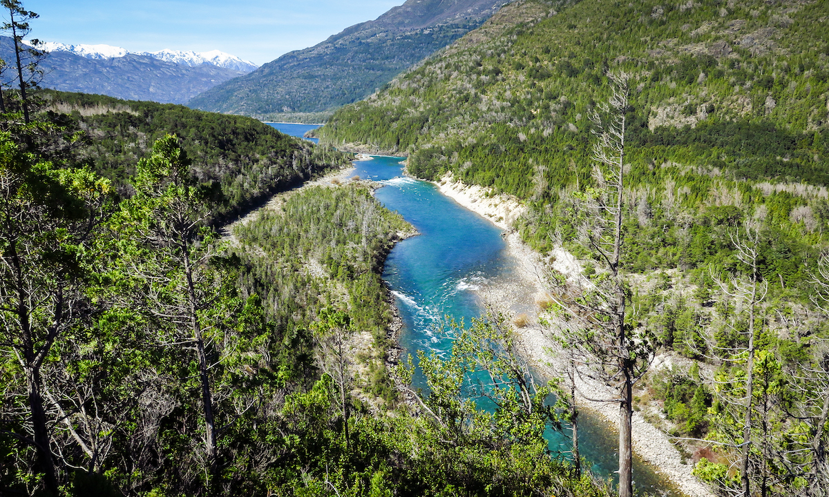 Rio Puelo in Chile and Argentina, Patagonia - a hidden gem, perfect for packrafts
