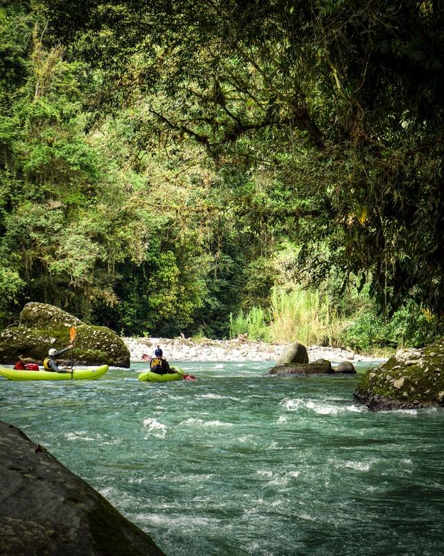 Packrafting in Costa Rica