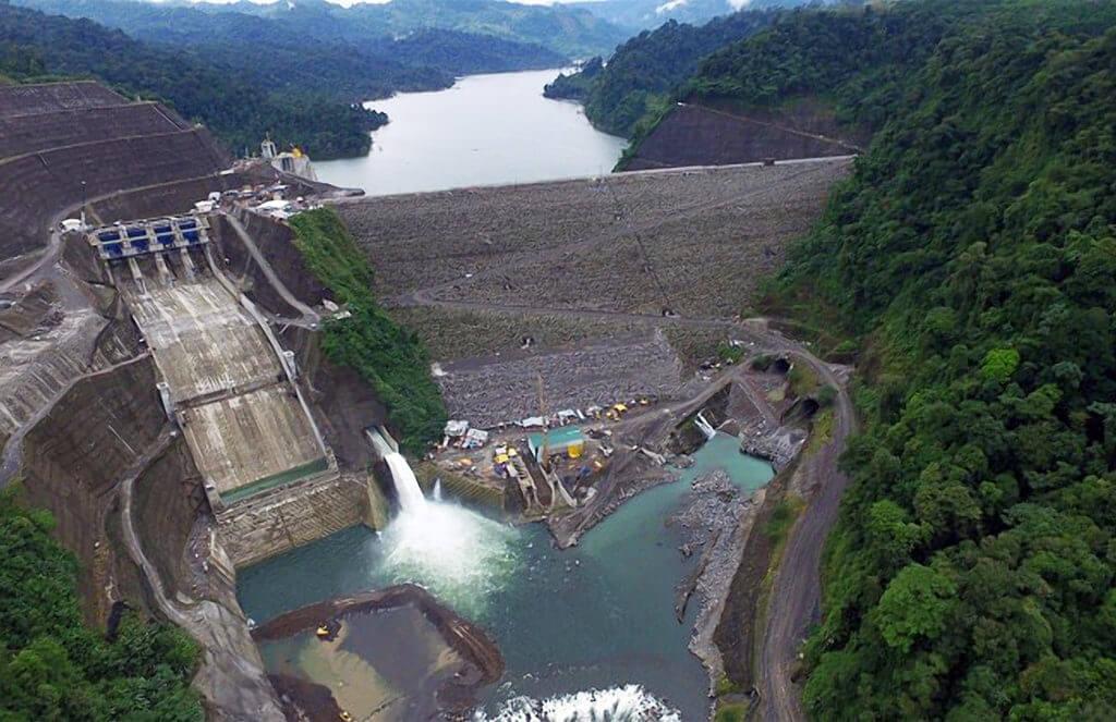 Rio Reventazon Hydro Dam