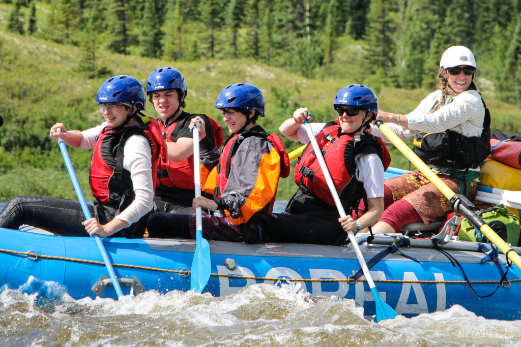 Nahanni Cultural Rafting Expedition - NWT, Canada