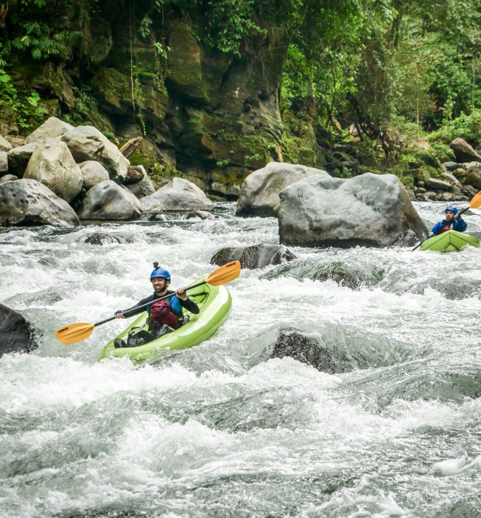 Some of the best whitewater in Central America—in your own packraft