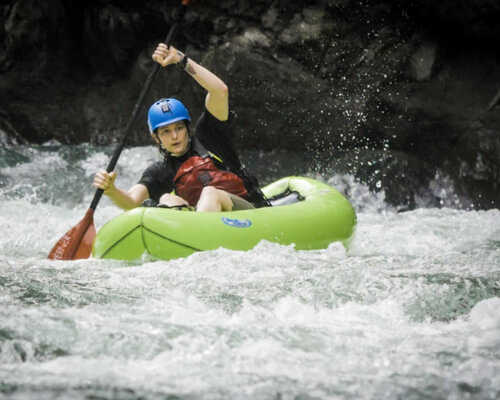 Learn skills on a real tropical river expedition