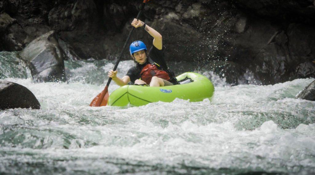 Pacuare Packrafting—some of the best whitewater in Central America