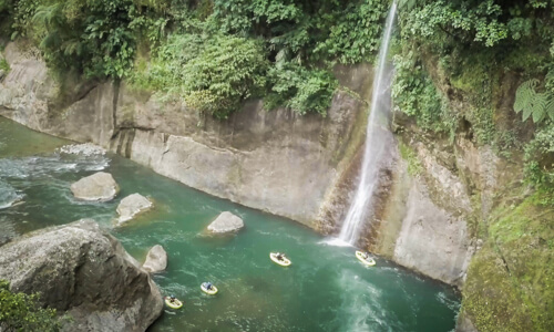 Paccuare River Packrafting tripin Costa Rica