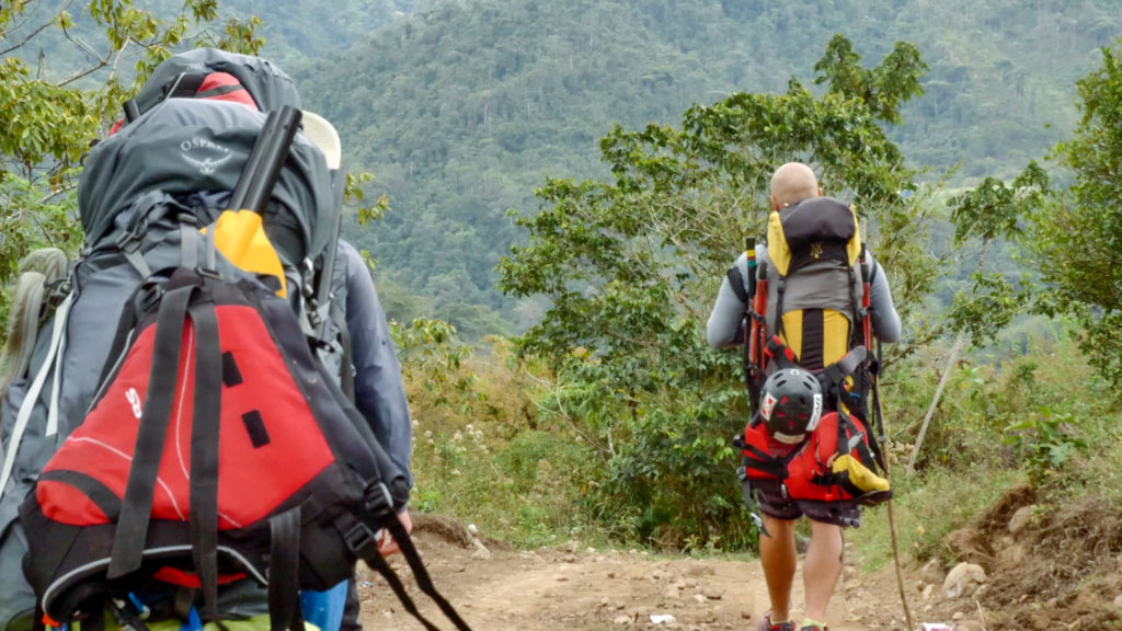 Hiking from Vereh to the Rio Pacuare Headwaters