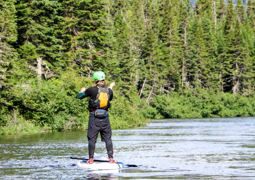 Standup Paddle Boarding (SUP) on the Magpie