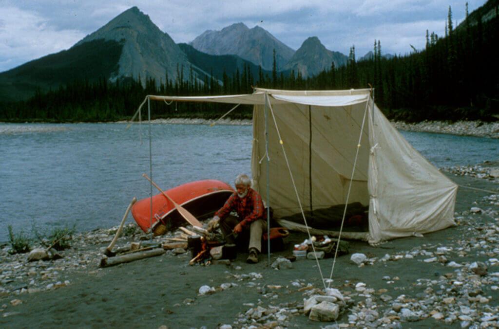 Bill Mason on the Mountain River.